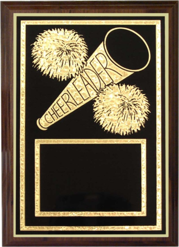 Cheerleader Plaque - Z46-CH