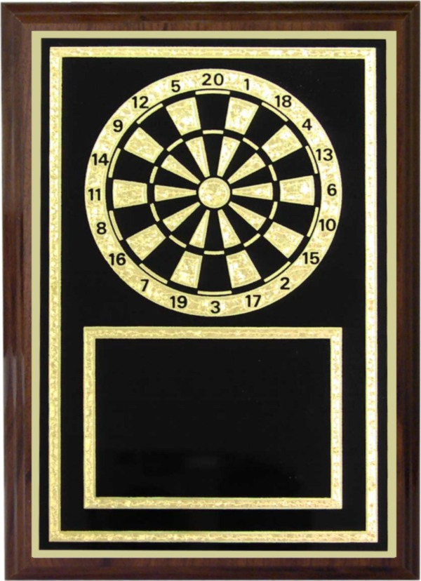 Darts Plaque - Z46-DA
