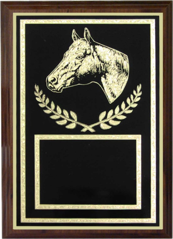 Horse Plaque - Z46-HR