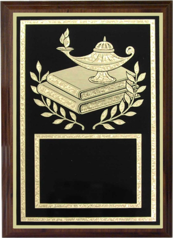 Lamp-of-Knowledge Plaque - Z46-LK