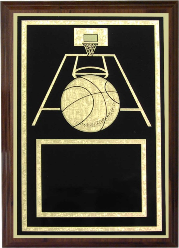 Basketball Plaque - Z46-RB