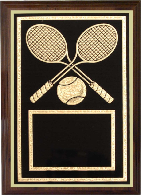 Tennis Plaque - Z46-TE