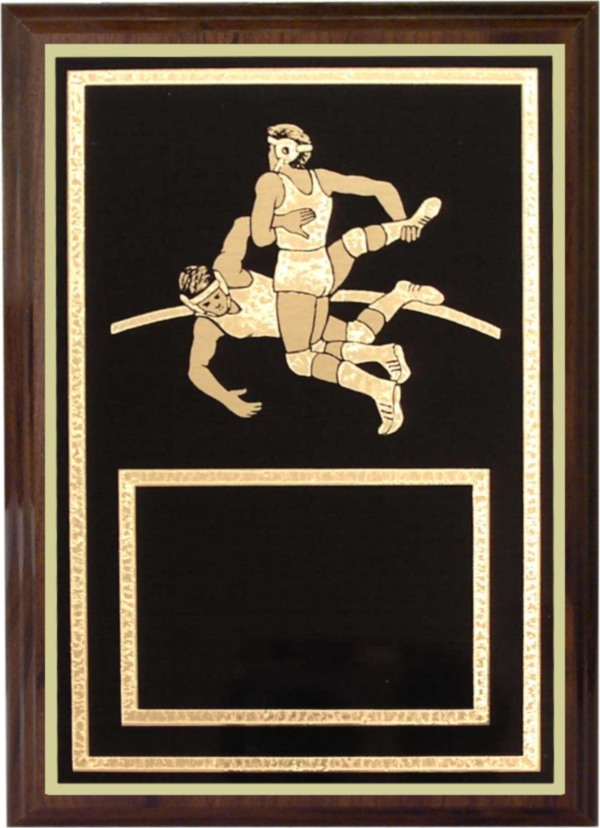 Wrestling Plaque - Z46-WR