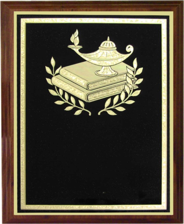 Lamp of Knowledge Plaque - Z68-LK