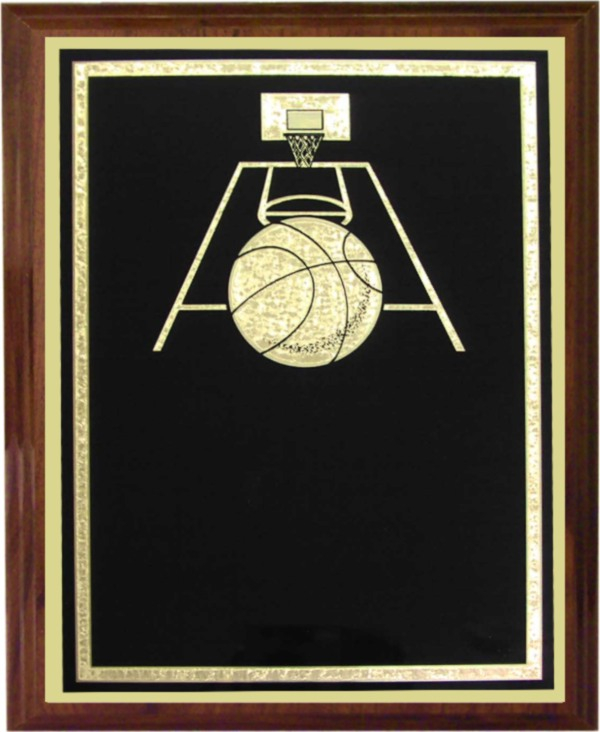 Basketball Plaque - Z68-RB