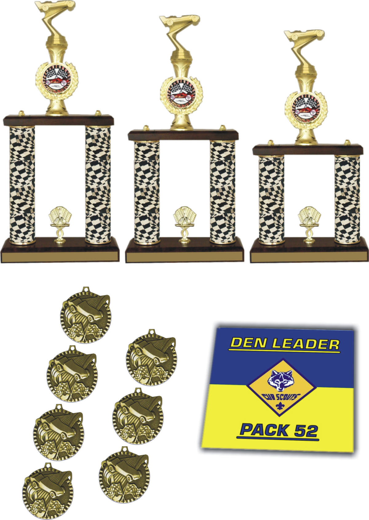 Pinewood Derby Racing Package - BTW-PWD-PACK