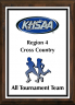 xxxKHSAA Cross Country Color Regional All Tournament/MVP Plaques
