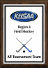 xxxKHSAA Field Hockey Color Regional All Tournament/MVP Plaques