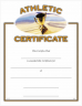 Athletic Certificate - CE-232